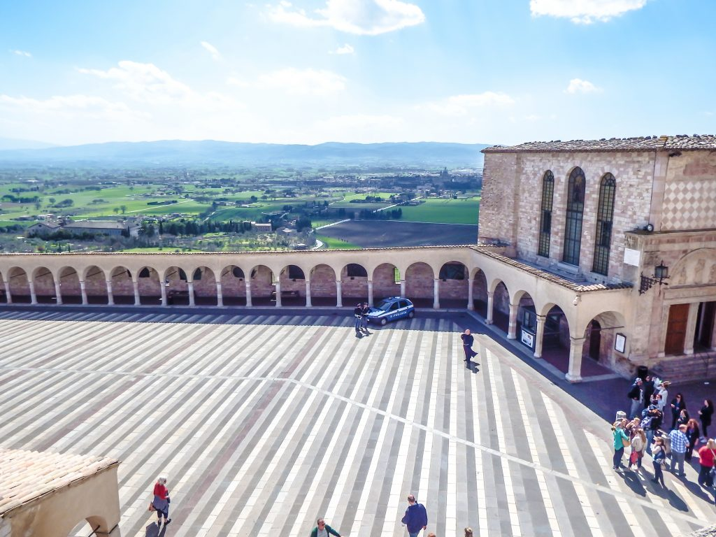 Monastery at Basilica of St. Francis // Day Trip to Assisi, Italy