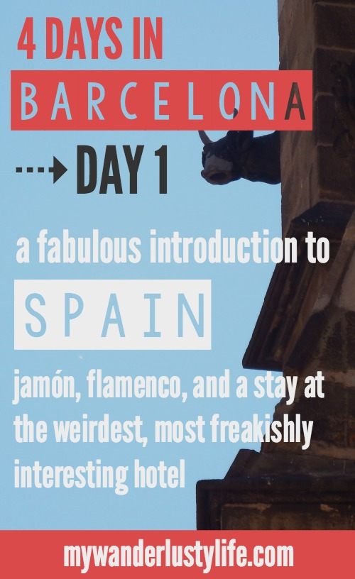 Day One of 4 days in Barcelona