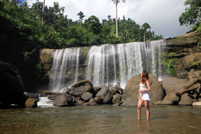 The Amazing Curtain Falls In Campawan Davao Oriental
