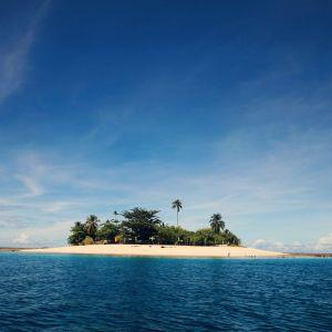 San Victor Island in Baganga Davao Oriental