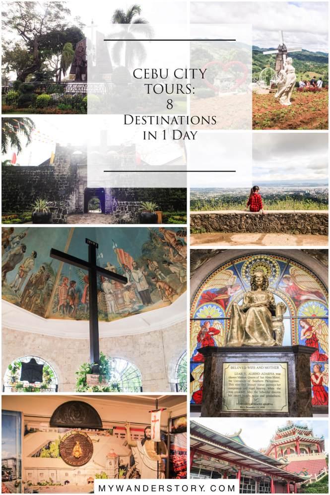 CEBU CITY TOURS - 8 destinations in 1 day