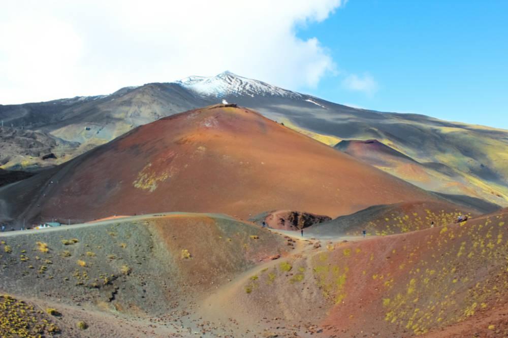 Etna, ostatní krátery