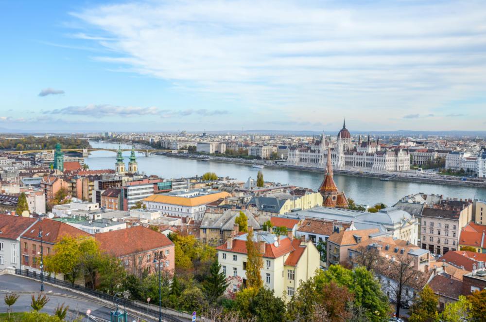 Výhled na Budapešť