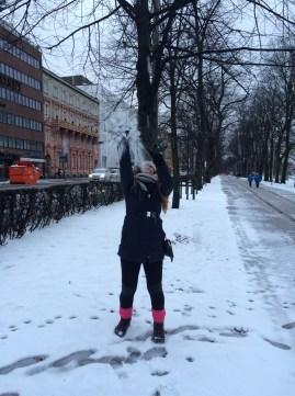 I love snow, just a tad!