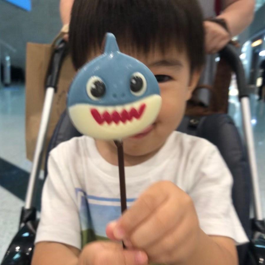 韓国で見つけたBaby sharkのチョコレート