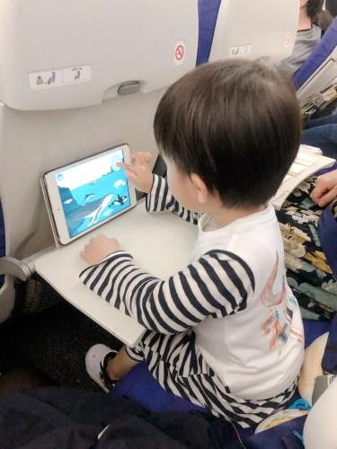 iPadを使いこなす子供
