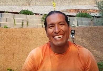 Pilgrim portraits – Oswaldo, Peru
