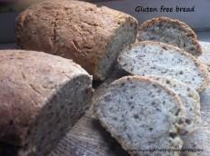 Chleb bezglutenowy na zakwasie. Gluten free sourdough bread.