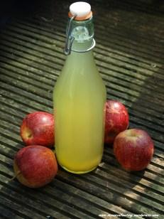 Apple cider vinegar. Ocet jabłkowy.