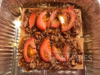 лазанья с помидорами
