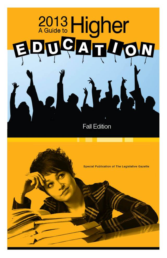 Higher Education Cover fall 2013