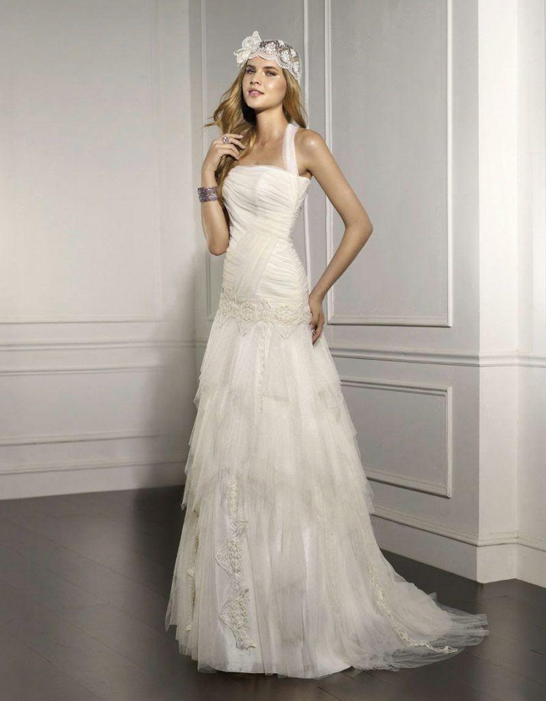 vestido de novia ibicenco