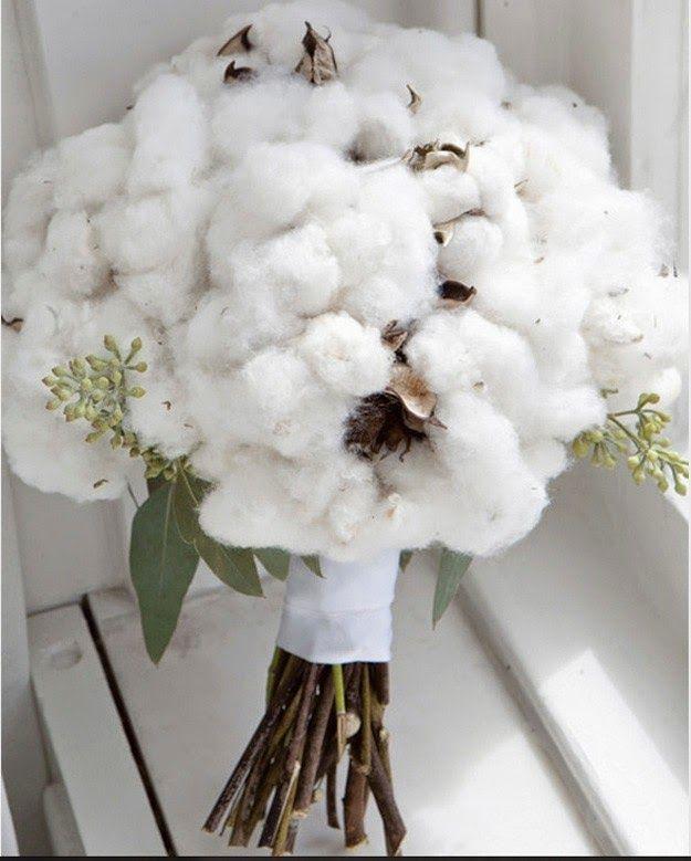 Decora tu Boda con Flores de Algodon