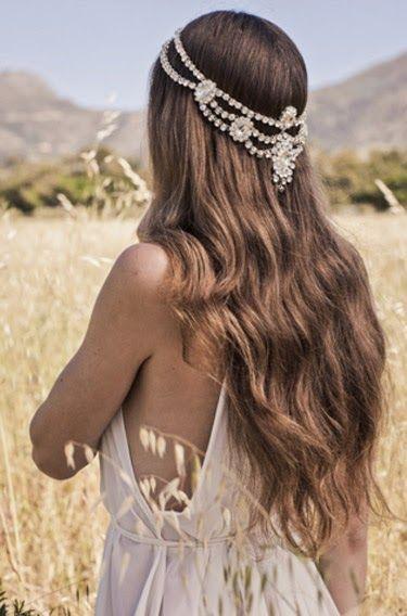 cabello suelto boda