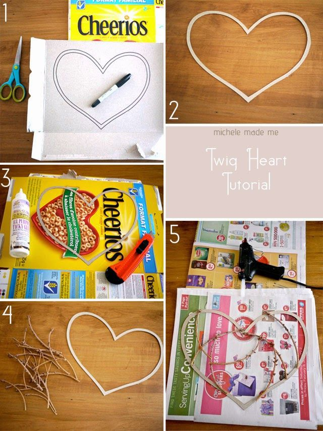 tutorial corazon boda