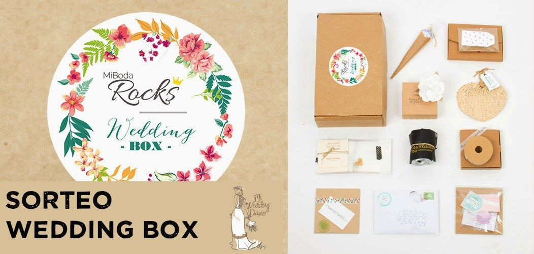 Ganadora Sorteo Wedding Box de Mi Boda Rocks