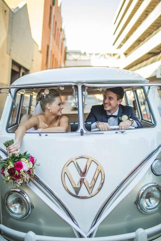 alternativas al coche de bodas