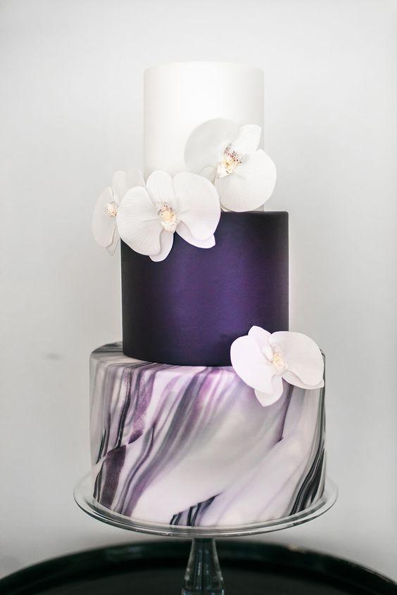 tarta boda ultra violet