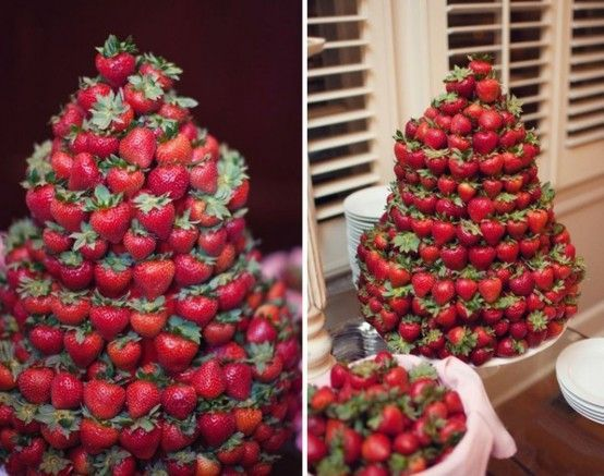 tarta fresas boda