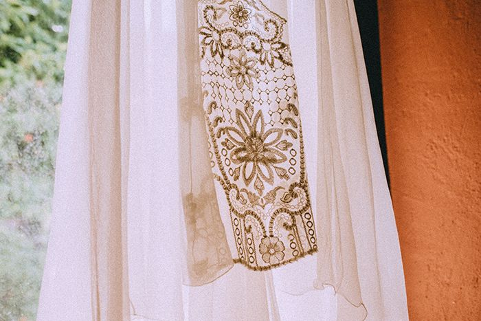 Vestido para novia Miguel Crespí