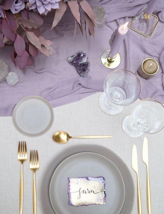 Decorar boda con piedras Preciosas