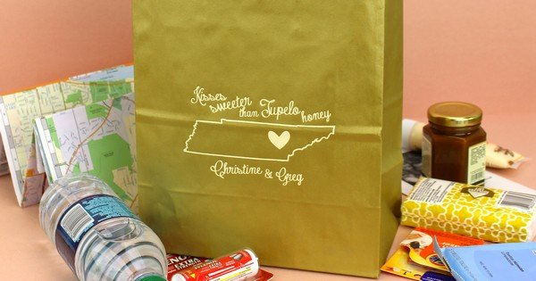 State By State Souvenir Ideas For Wedding Welcome Gift Bags