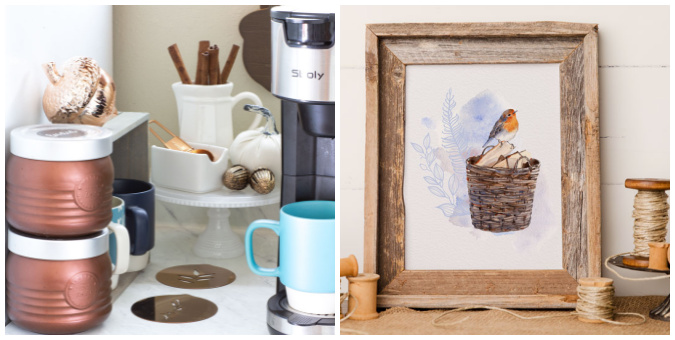 tuesday turn about 111 hello august collage of coffee bar and fall printable