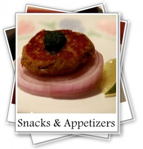 Recipe Index-Snacks & Appetizers - My Weekend Kitchen