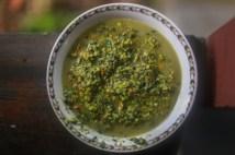 pistachio edamame pesto - pesto