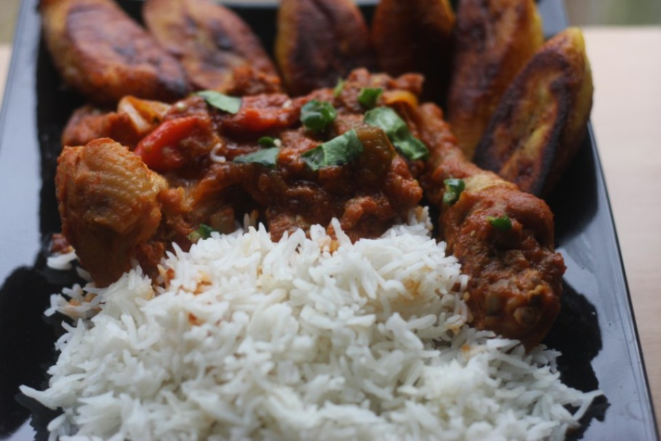 Ghana Chicken Stew with Rice
