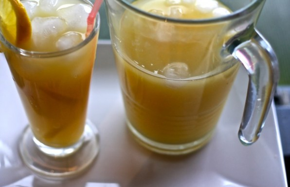 Ginger drink West Africa