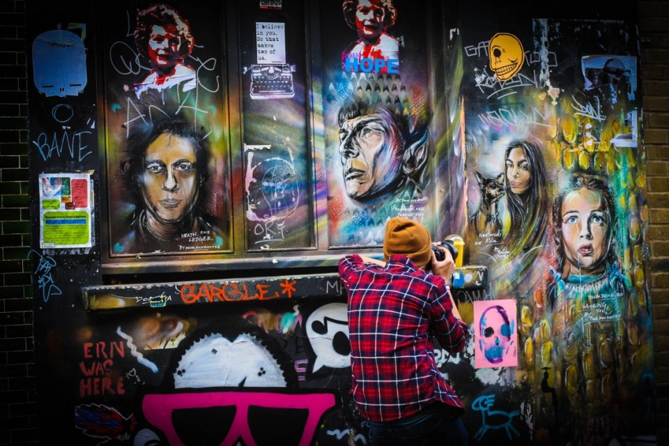 Street Food and Street Art in London