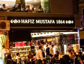Hafiz Mustafa 1864 in Istanbul
