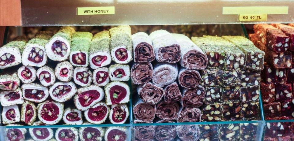 The spice bazaar in Istanbul