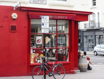 Lone bicycle photo essay: Portobello Road Market, London