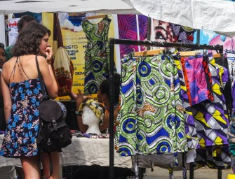 "The ""Fashion Market"" at Portobello Road Market (London)"