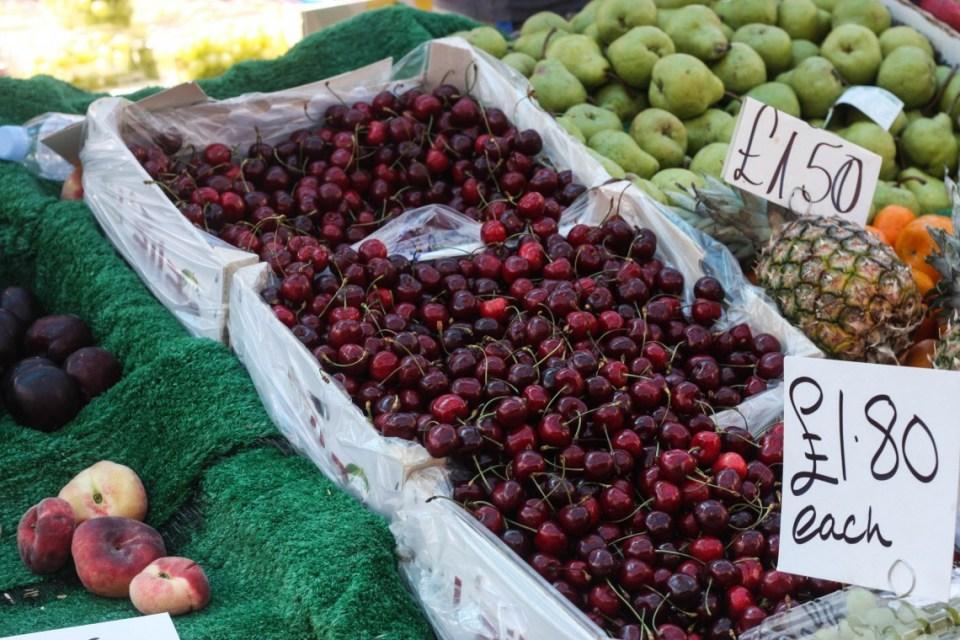 Fruit and Veg at the Portobello Road Market, London