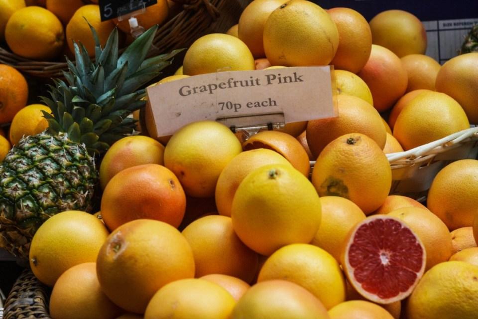 Fruit and Veg at the Borough Market