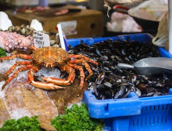 Game, fish, Sea Food at Borough market