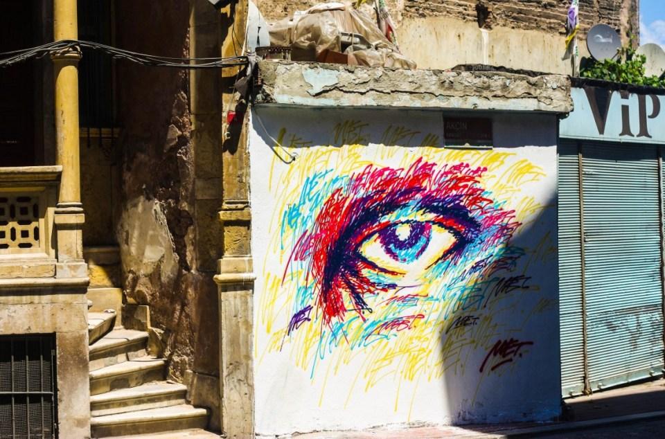 Street art and grafitti in Istanbul