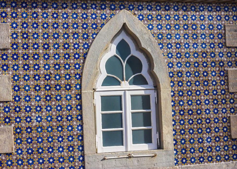 Beauty in Lisbon's Azulejo ceramic tiles
