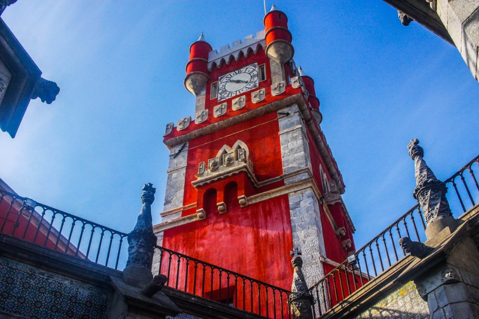 In search of romanticism: Pena National Palace in Portugal