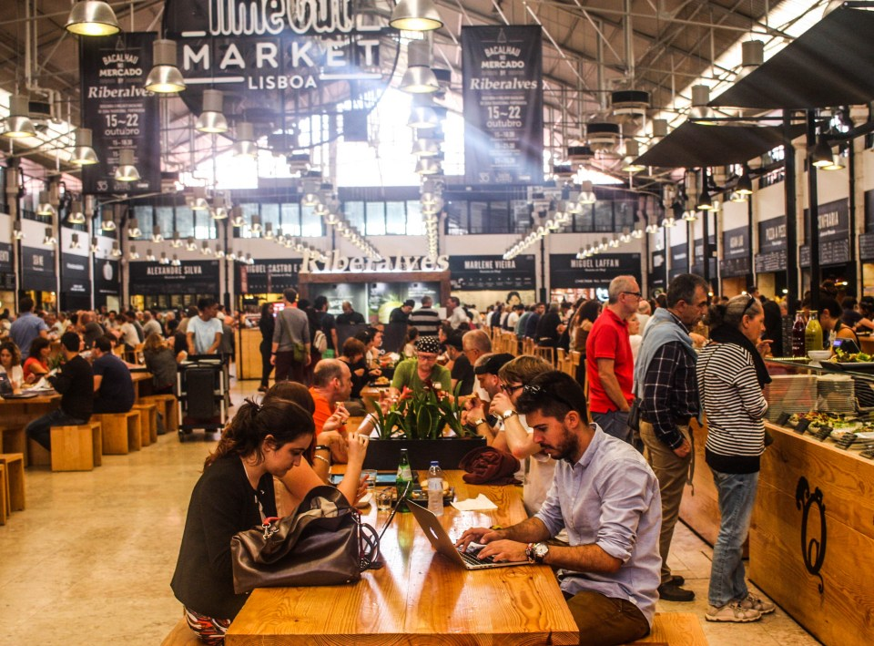 Lisbon: Curated top notch lunch at the Mercado da Ribeira
