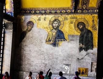 Inside Hagia Sophia in Photos