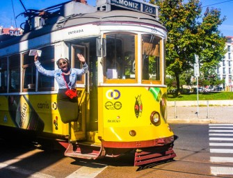A jolly ride on Lisbon's iconic Tram 28