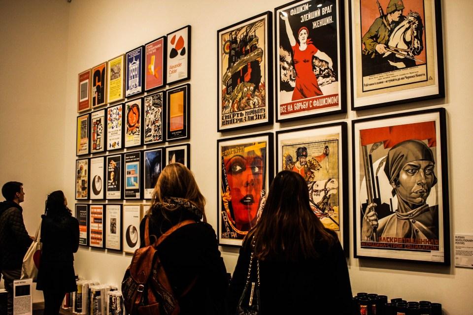 Photo Essay: Watching people watching art at the Tate Modern