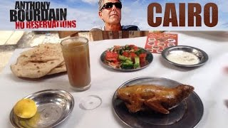 Watch Anthony Bourdain travel to Egypt to sample its food