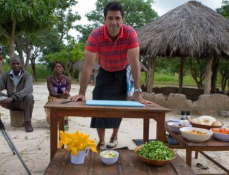 Watch Chef Kiran Jethwa in the series Tales from the bush larder in Kenya