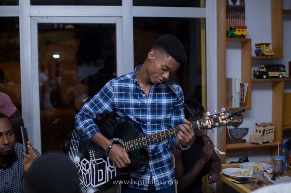 Kidi, winner of MTN Hitmaker 4 performing at one of his private events