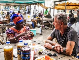 Watch Anthony Bourdain explore Senegal cuisine